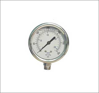 Pressure Gauge Ss Body Ss Internal