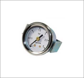 Pressure Gauge With Bracket