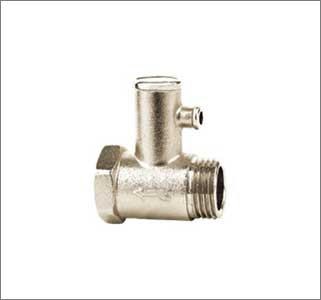Gyser Safety Valve